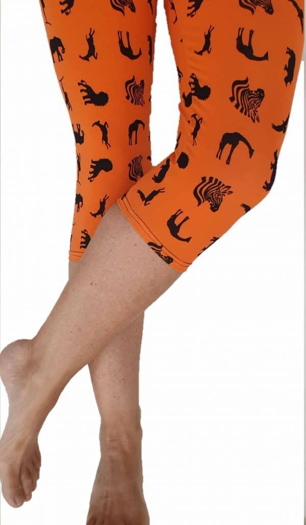 Leggings 3/4 Safari